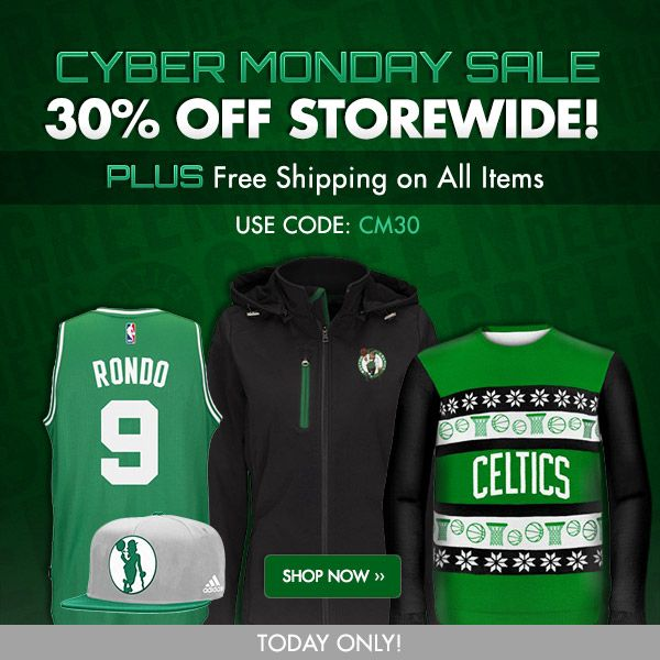 Boston Celtics Cyber Monday Sale