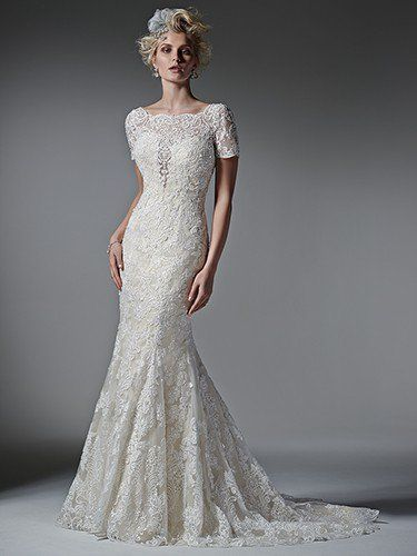 Stunning  Wedding Dress Trends Short Sleeves Tierney by Sottero and Midgley