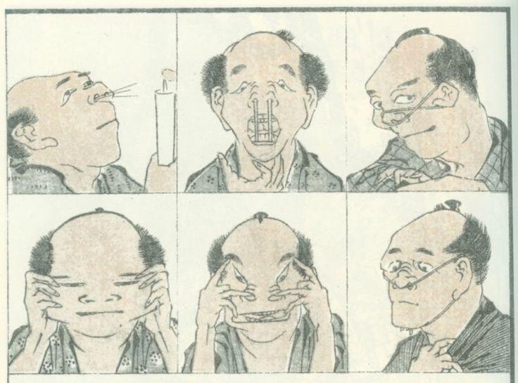 katsushika-hokusai-manga