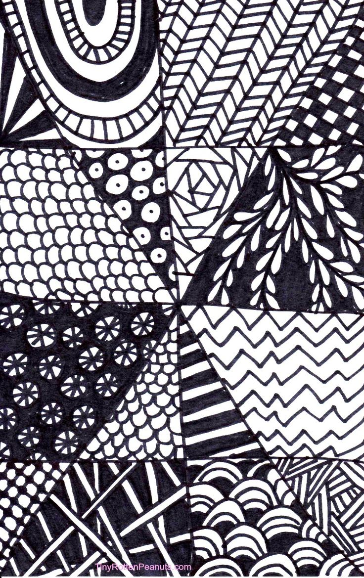 A super quick and easy Zentangle project for when you don;t have a lot of time- great for kids!