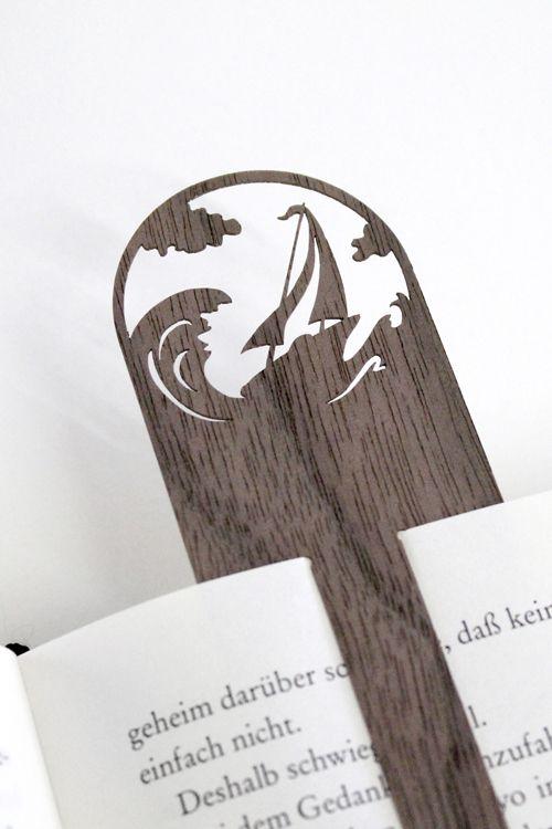 wooden bookmark series by faltmanufaktur for designimdorf