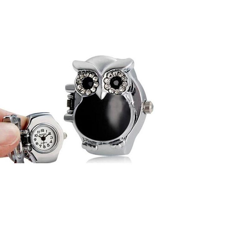 $1.71 (Buy here: https://alitems.com/g/1e8d114494ebda23ff8b16525dc3e8/?i=5&ulp=https%3A%2F%2Fwww.aliexpress.com%2Fitem%2FNew-Hot-Creative-unisex-watch-women-men-Fashion-Retro-Owl-Finger-Watch-Clamshell-Ring-Watch-top%2F32723093651.html ) New Hot Creative unisex watch women men Fashion Retro Owl Finger Watch Clamshell Ring Watch top sale relogios feminino 349 for just $1.71