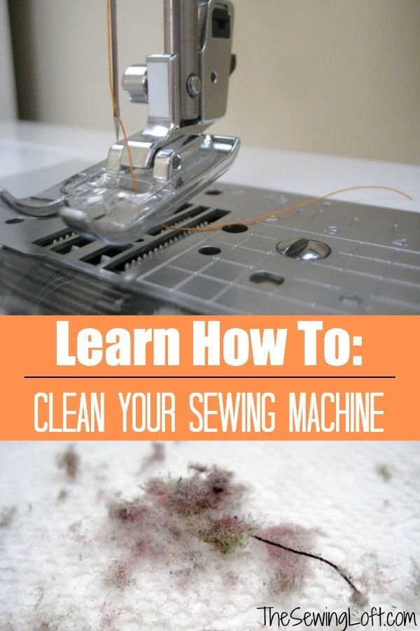 Learn how to clean your sewing machine and   keep in it working order.  Remove dust and fiber build up.  The Sewing   Loft