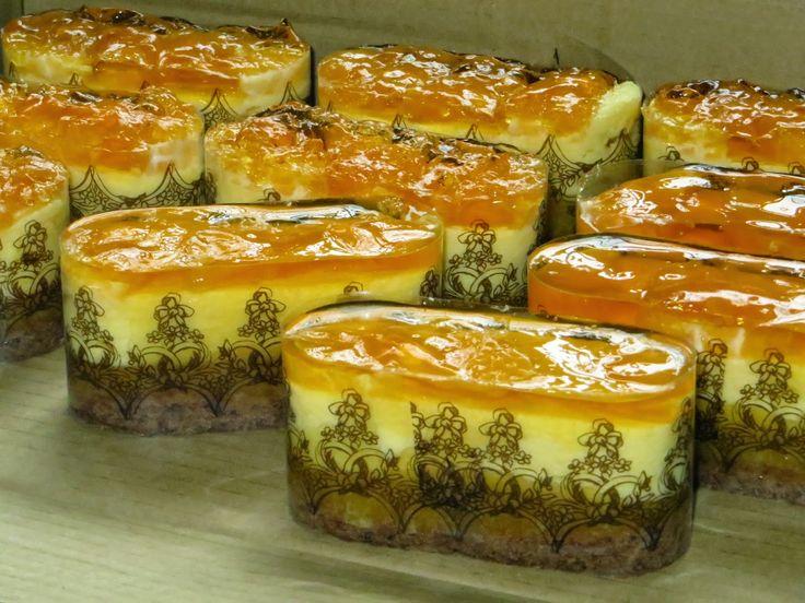 Domowe ciasta i obiady: Bankietówki Sernik Pomarańczowy