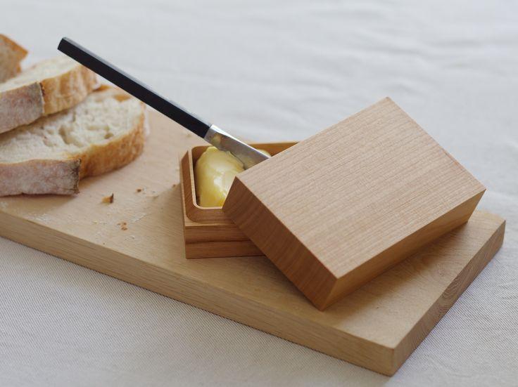 Butter box by Antrei Hartikainen, Cutting board by Mattila&Merz