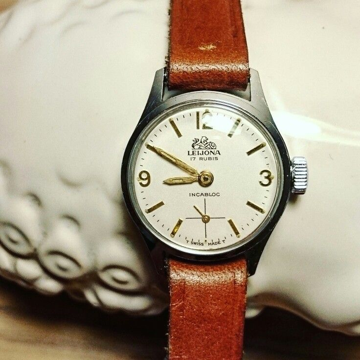 Vintage Leijona-watch from the year 1970.