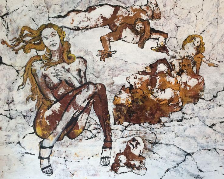 Kell Jarner 2016. 200 x 160 cm.