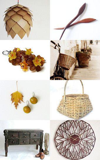 Enchanted Fall by Mandarina on Etsy--Pinned with TreasuryPin.com