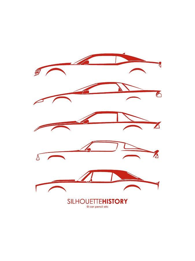 Chevrolet Camaro SilhouetteHistory from $20