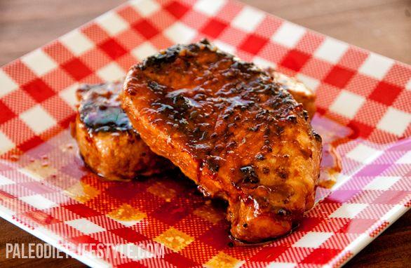Pork Chop in Sweet Sauce #PaleoDietLifestyle
