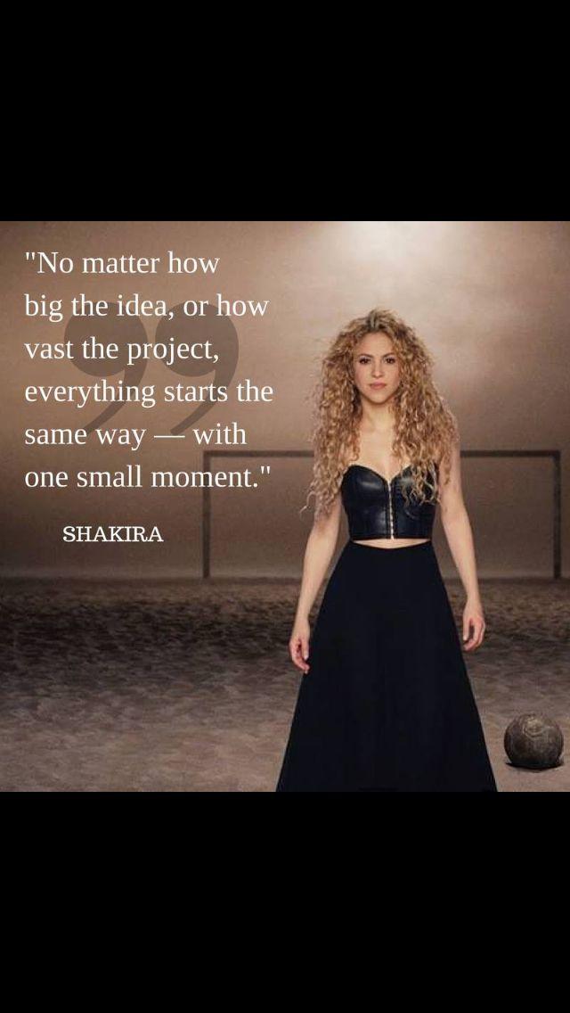 Shakira wisdom