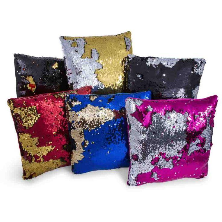 sequin throw pillow|Five Below