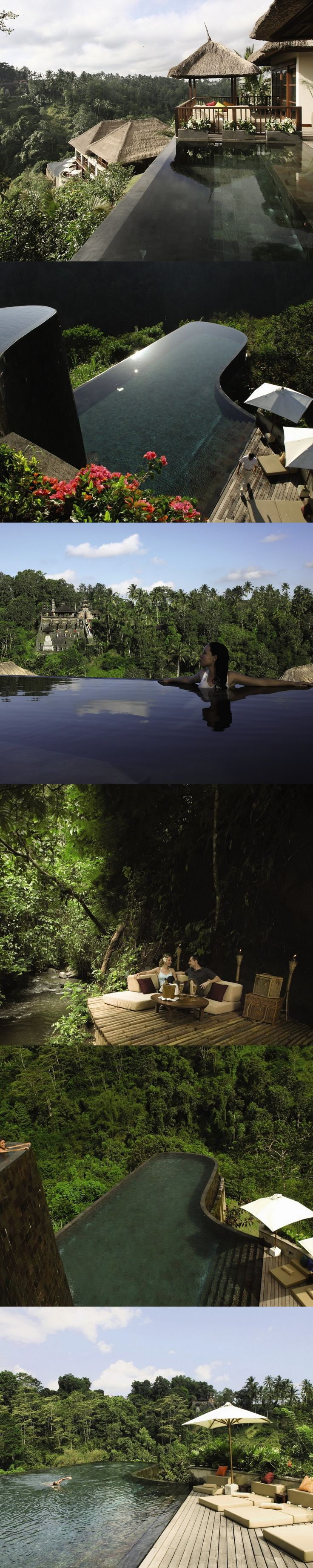 Ubud Hanging Gardens – Wonderful Rooftop pools