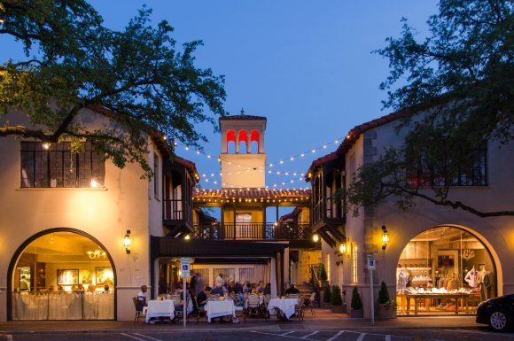 Highland Park Village Dallas - I am having a blast!! Drove out for the day all by myself.