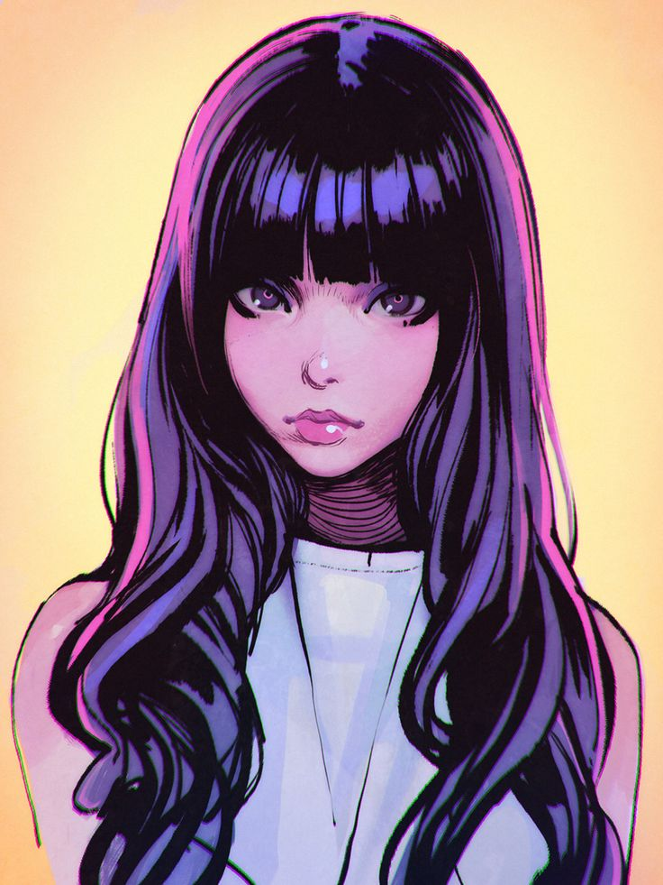 kuvshinov-ilya:  Inks   https://www.patreon.com/posts/4165458