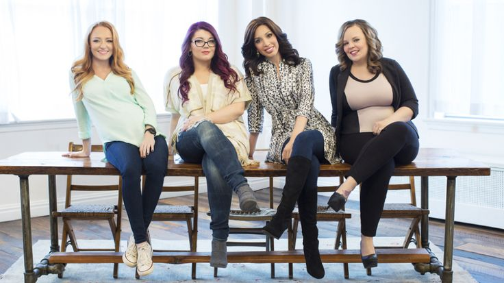 MTV's Official Cast Portraits For Teen Mom OG's First Season #teenmomog #teenmomogshow