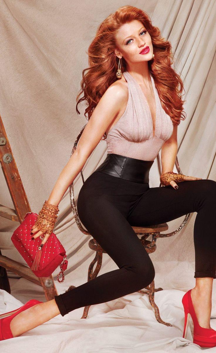 Cintia Dicker -Bebe 2011 Lookbook  Ginger Hair -2578