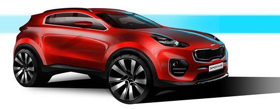 First look: the next-generation Kia Sportage - http://bit.ly/1flajtS