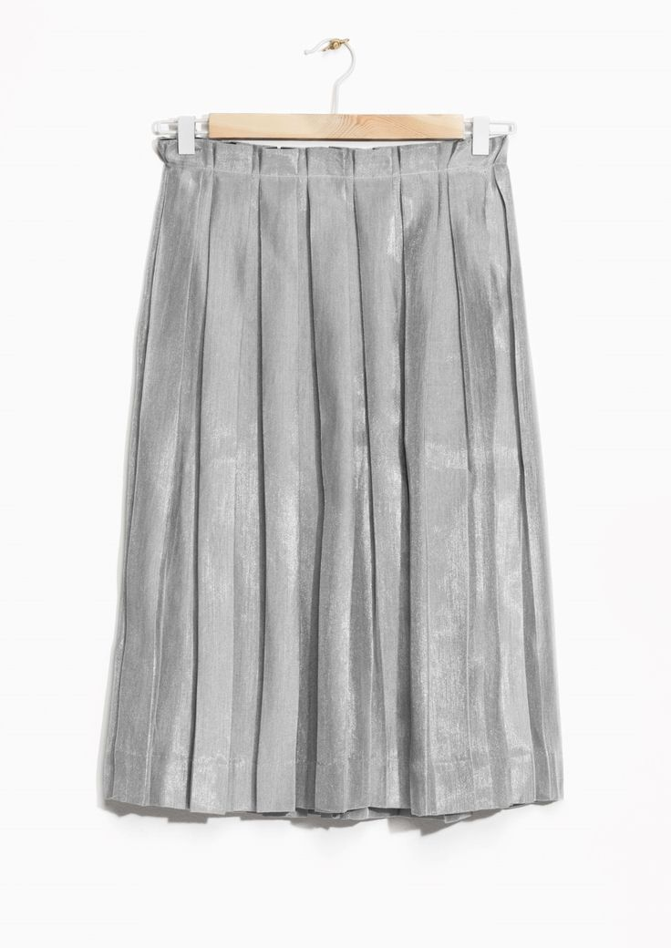 & Other Stories | Pleated Skirt €65