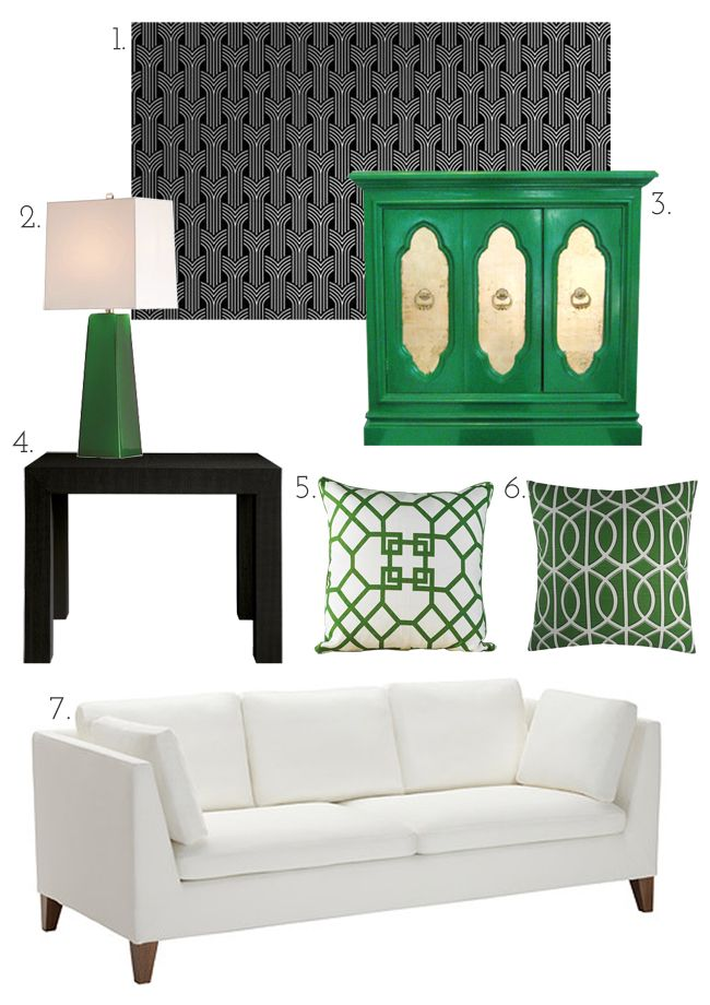 25 best ideas about green accents on pinterest green for Kelly green decor