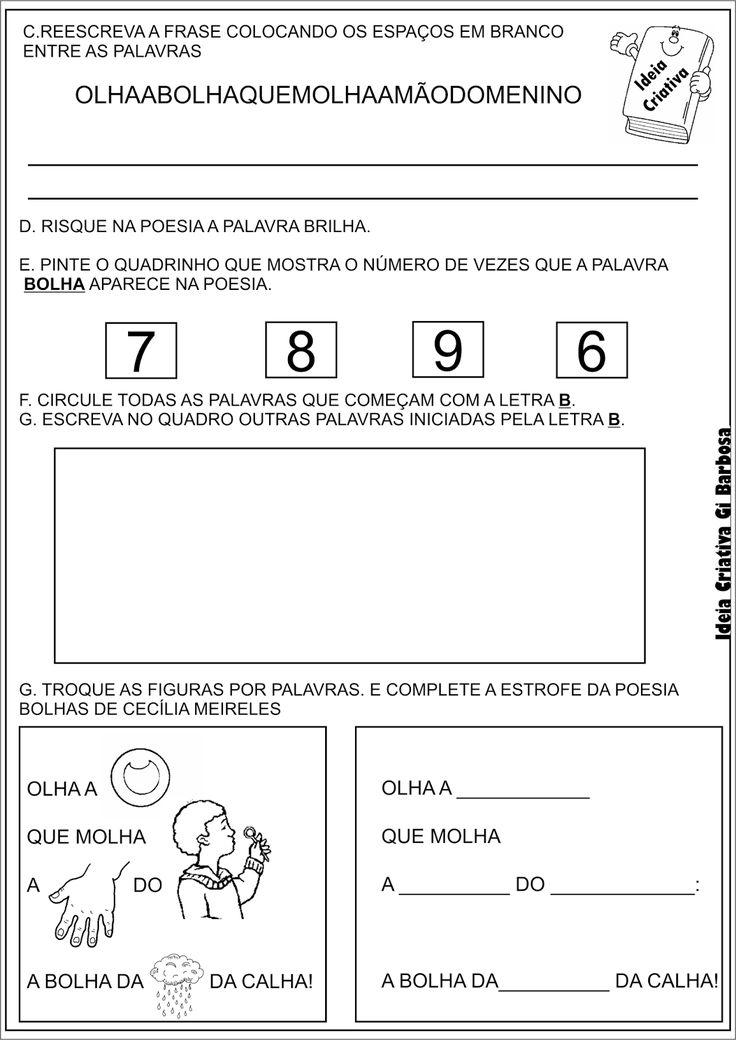 ATIVIDADE-POEMA-CECÍLIA-MEIRELES-BOLHAS-CONSCIÊNCIA-FONOLÓGICA.png (1132×1600)