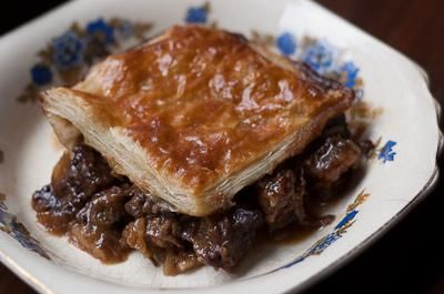 Beef Recipes : Guinness and Beef Pie Recipe