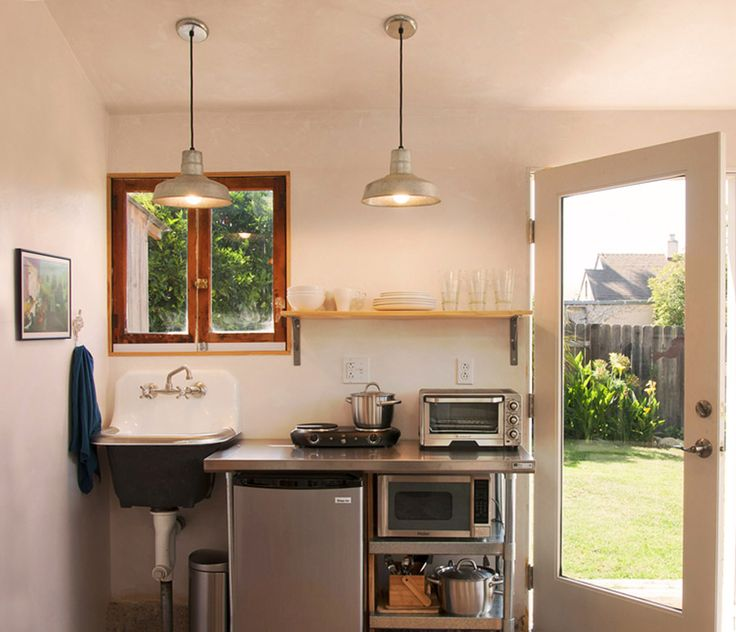 392 best images about tiny house kitchens on pinterest for Garage kitchen ideas
