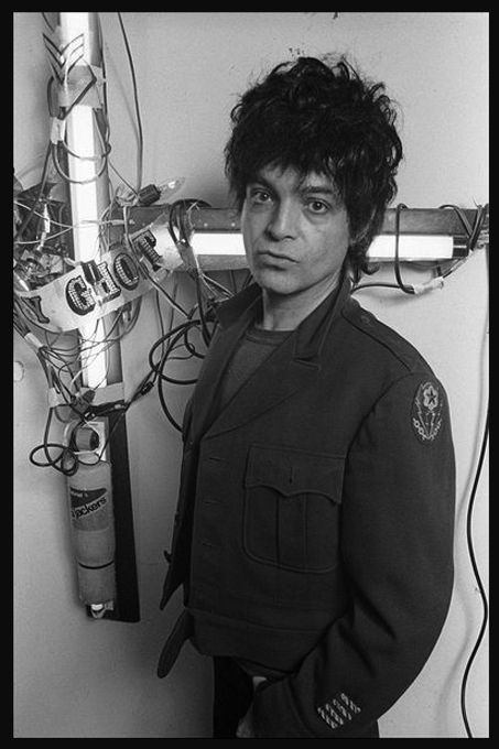 post-punker:  Alan Vega, from Suicide  via