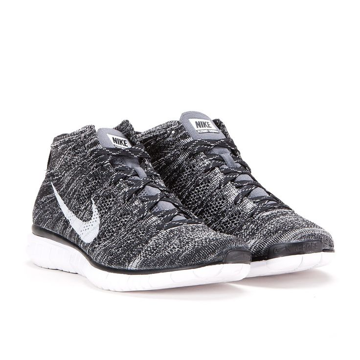 5976ece635e97 ... Nike Free Flyknit Chukka (Black   Pure Platinum   Sail)