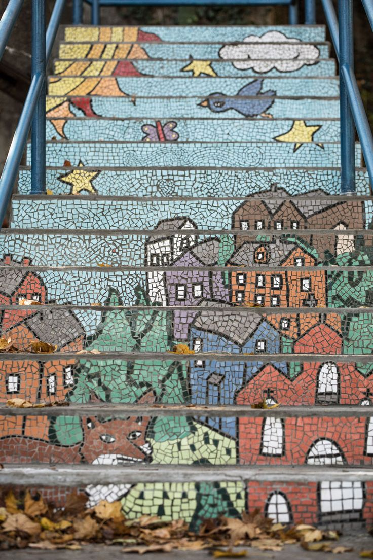 Photo Gallery: South Side Mosaic Stairs   The 412   December 2016