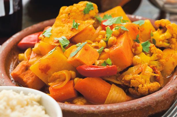 Spiced butternut squash and veg tagine recipe - goodtoknow