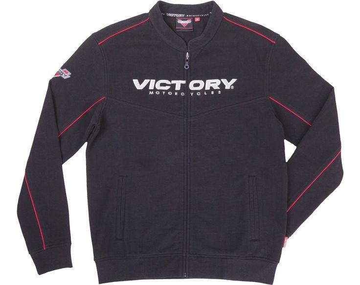 Men's Brand Zip Thru - Black | Victory Motorcycles