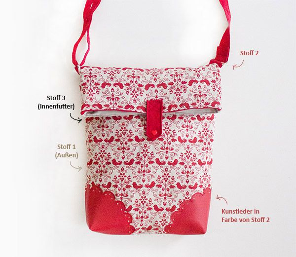 Tasche Marit - Free Tutorial