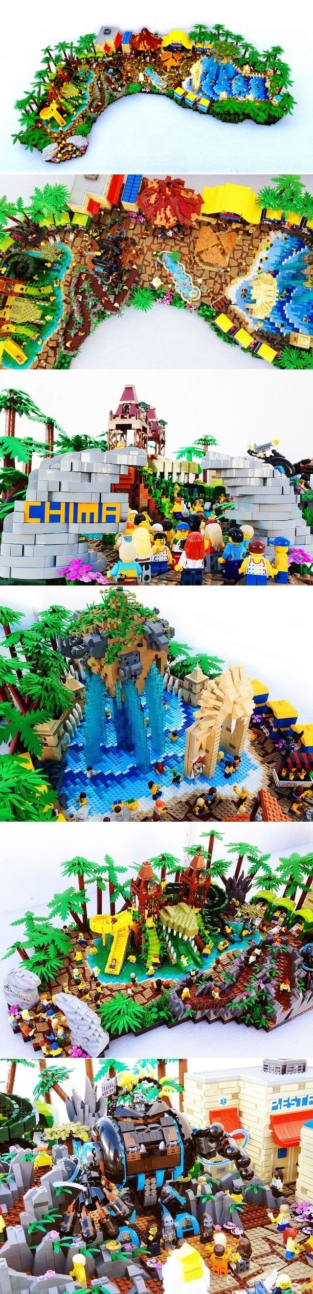Pin lego 60032 city the lego summer wave in official images on - Lego Legends Of Chima Water Park By Joel Baker