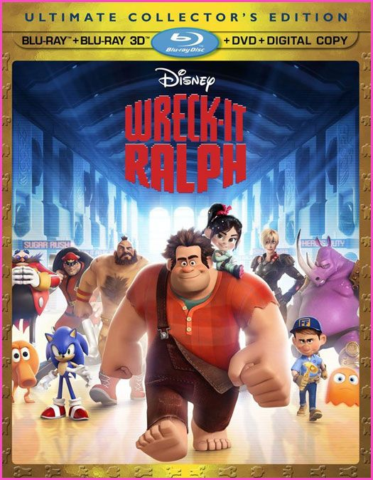 Wreck-It Ralph DVD/Blu-ray Combo Pack  #WreckItRalph #DisneyOzEvent