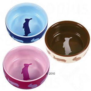 Ciotole in ceramica per conigli