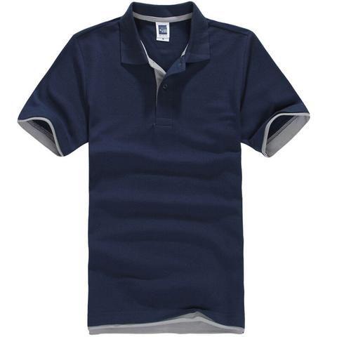 New 2017 Men's Brand Polo Shirt For Men Designer Polos Men Cotton Short Sleeve shirt Brands jerseys golftennis Free Shipping