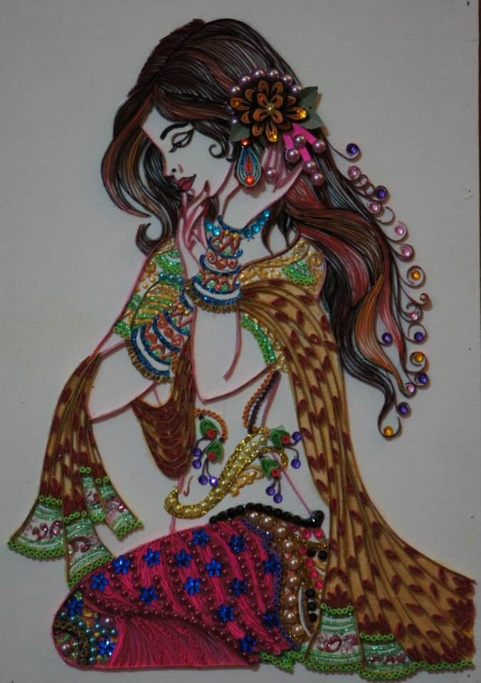 Femme bijoux