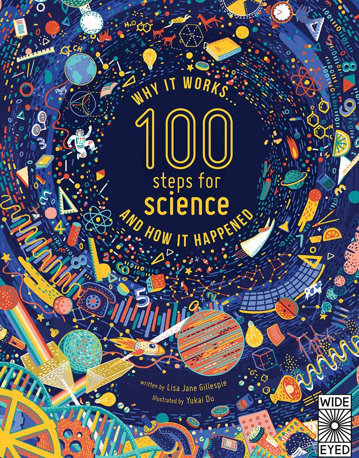 """Check out this @Behance project: """"100 Steps For Science"""" https://www.behance.net/gallery/50064135/100-Steps-For-Science"""