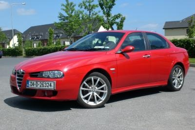 2004 156 TI (Turismo Internazionale). My fifth car and my second Alfa Romeo.