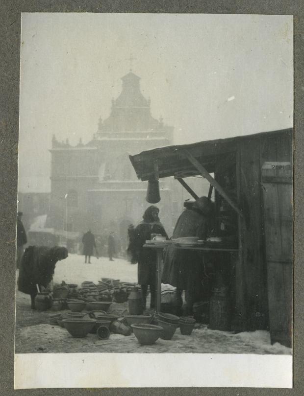 Lublin, ul. Świętoduską and Targ market, Edward Hartwig