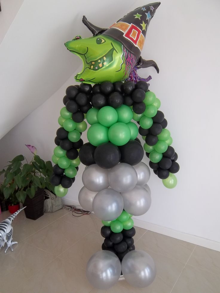 Balónový čarodejník - 2 m