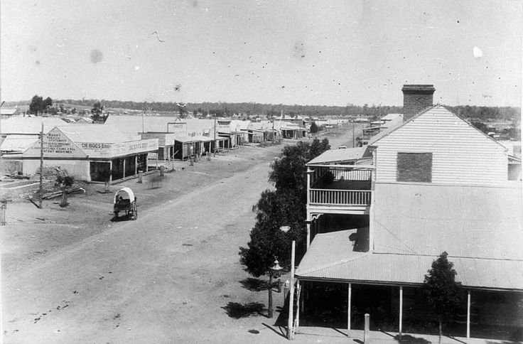 Temora,a town in the north-east of the Riverina area of New South Wales in 1890.