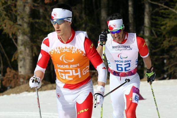 #Sochi - Brian McKeever - Gold Medal - Para Nordic Skiing