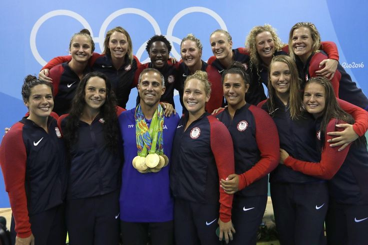 US overpowers Italy for 2nd straight GOLD in women's Olympic Water Polo. #Rio2016 http://bos.gl/Fqe8xUN