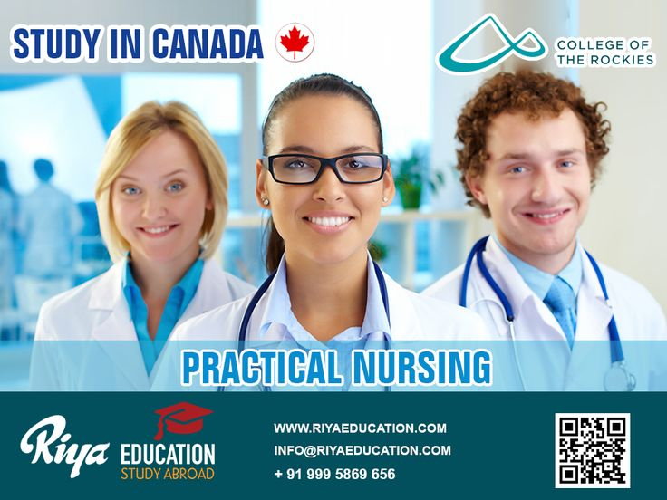 Practical Nursing in Canada !!! If you have a dream to study abroad, Canada can be a best option for you. For more guidance visit our nearest office http://www.riyaeducation.com/contact/ #studyincanada #nursing