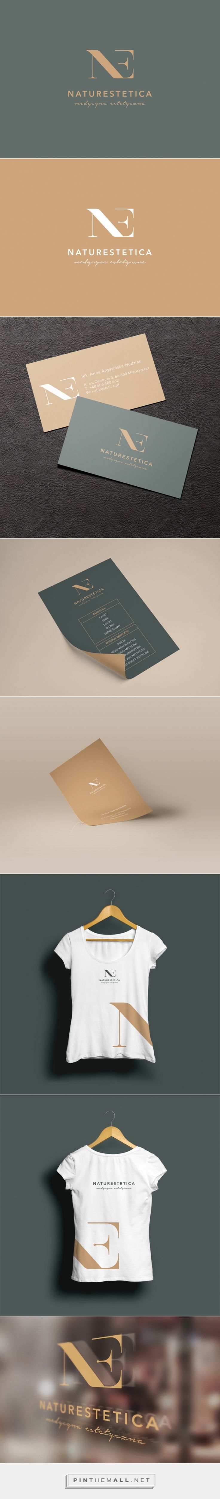 Branding for aesthetic medicine cabinet. on Behance... - a grouped images picture - Pin Them All