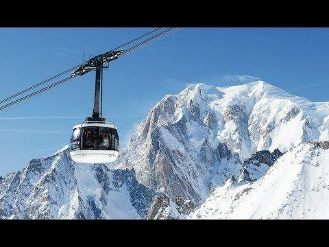 """Doppelmayr 80-ATW """"Skyway Monte Bianco"""" Courmayeur, Italien - Deutsch (2..."""