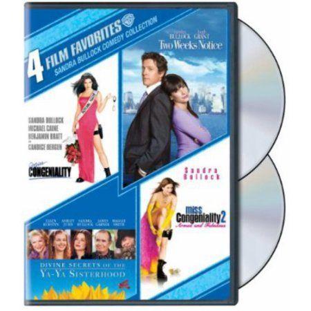 DVD Sandra Bullock Comedy Collection: Miss Congeniality / Miss Congeniality 2 / Two Weeks Notice / Divine Secrets Of The Ya-Ya Sisterhood (Widescreen) - Walmart.com