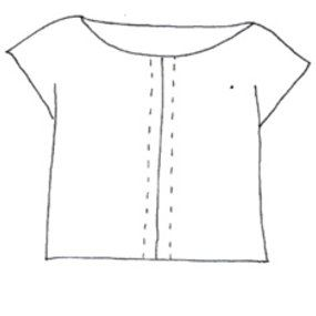 View details for the pattern Port Elizabeth, cap sleeve, summer top on BurdaStyle.